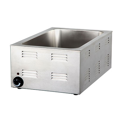 "Padela- Food Warmer, electric, full size, 12""W x 20""D x 6-1/2"" H pan opening, (P77)"