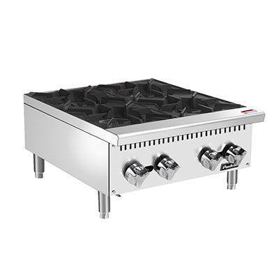 "Padela- Hotplate, counter top, gas, 24.0""W x 29.1""D x 13.1""H, (4) 25,000 BTU burners, (PCHP-24-4)"
