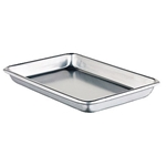 "Winco - SHEET PAN, 1/4 SIZE ALUM, 9-1/2"" X 13"", CS/12 