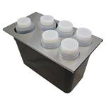 PKS - 1/3 Sz Condiment Converter Kit (SS) | Public Kitchen Supply