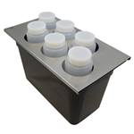 PKS - 1/3 Sz. Condiment Converter Kit (SS) | Public Kitchen Supply