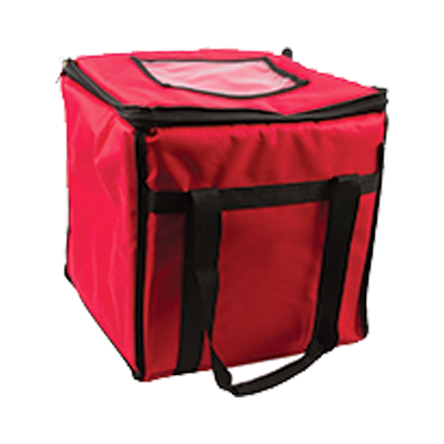 "San Jamar - 12"" Food Carrier (Red) 