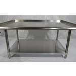 Iron Guard-SS Equipment Stand 30 X 36 X 24 304SS 16GA | Public Kitchen Supply