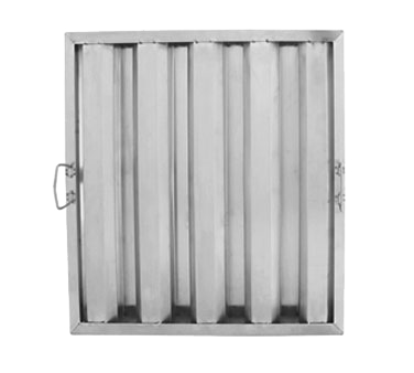 "Update International - 20 x 20"""" Stainless Hood Filter 