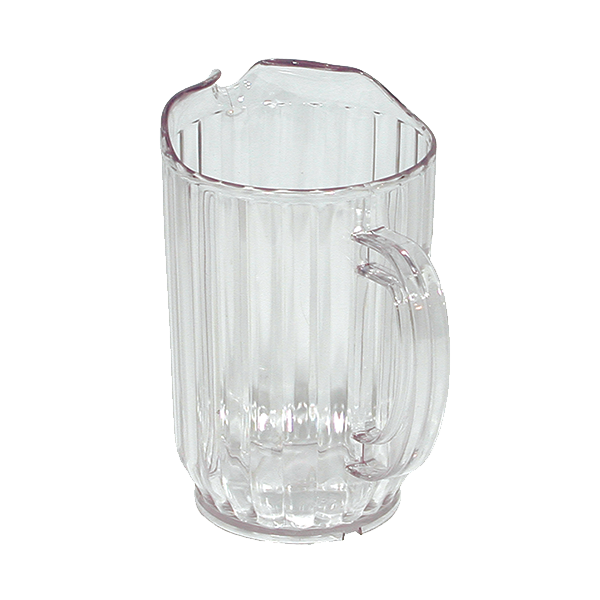 Update International - 32 oz Clear Plastic Pitcher | Public Kitchen Supply