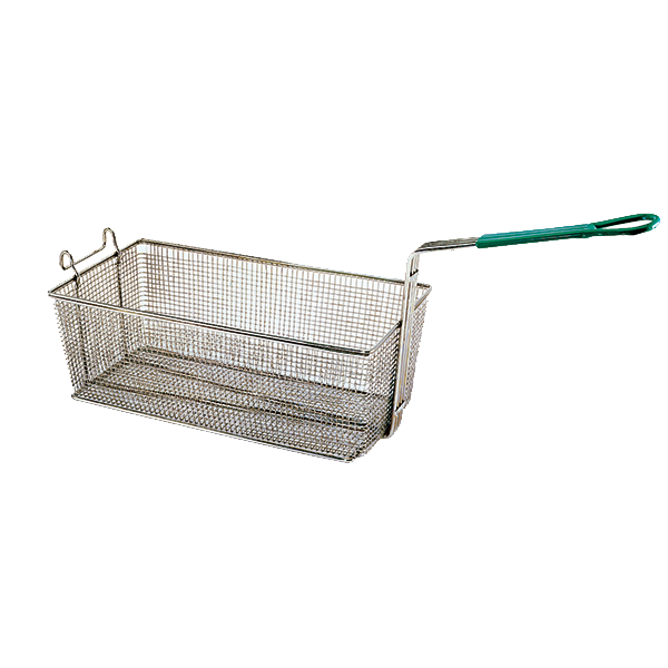 "Update International - 17"""" x 8"""" x 5"""" Wire Fry Basket 