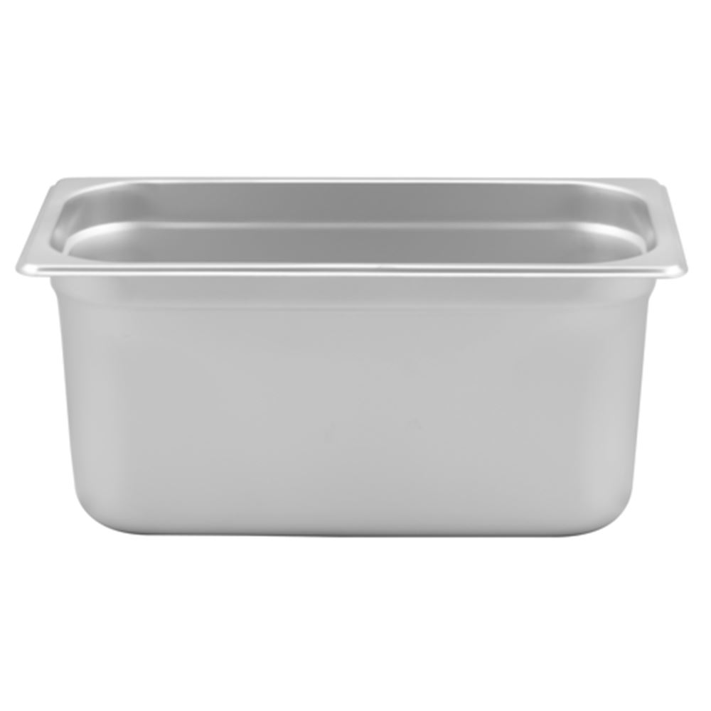 "Browne - 1/3 Size x 6"" Stainless Steam Table Pan