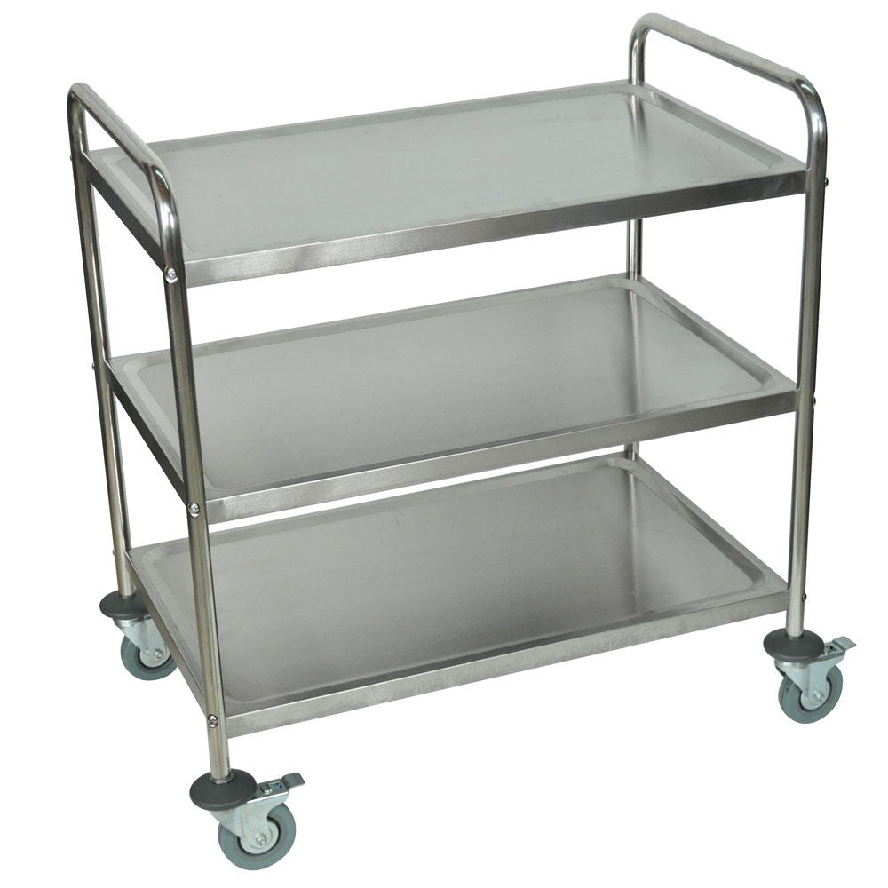 ... Stainless Steel Cart Click To Zoom